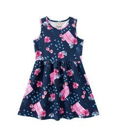 Vestido---Meia-Malha---Flores-E-Bolsinhas---Azul-Marinho---Brandili---10