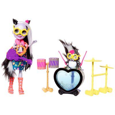 Boneca-Articulada---15-Cm---Enchantimals---Estrella-De-Rock---Mattel