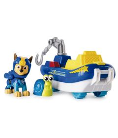 Veiculo-e-Figura---Patrulha-Canina---Chase-s---Patrol-Cruiser---Chase---Sunny
