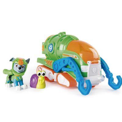 Veiculo-e-Figura---Patrulha-Canina---Rocky---Sea-Patrol-Vehicle---Verde---Laranja-e-Azul---Sunny