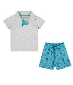 Conjuntinho-Infantil---Camiseta-Polo-e-Shorts-Estampado---Baby-Boy---Branco---Kamylus---P