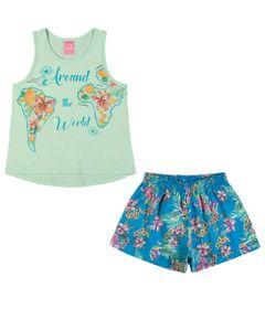 Conjuntinho-Infantil---Regata-Estampada-e-Shorts---Arould-The-World---Mescla-Verde---Kamylus---4