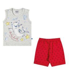 Conjuntinho-Infantil---Regata-Estampada-e-Shorts---Tubarao---Mescla---Kamylus---G