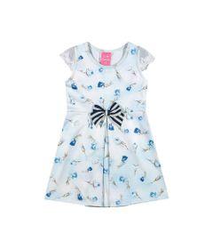 Vestido-Infantil---Jacquard---Fadinhas---Azul---Kamylus---P