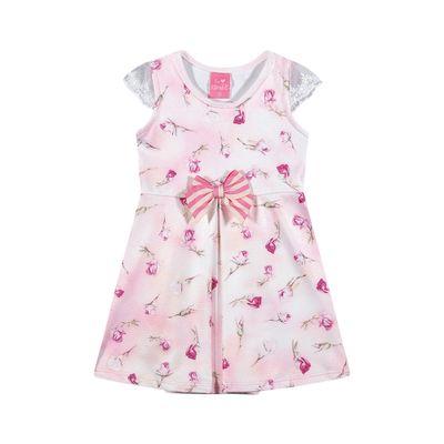 Vestido-Infantil---Jacquard---Fadinhas---Rosa---Kamylus---P