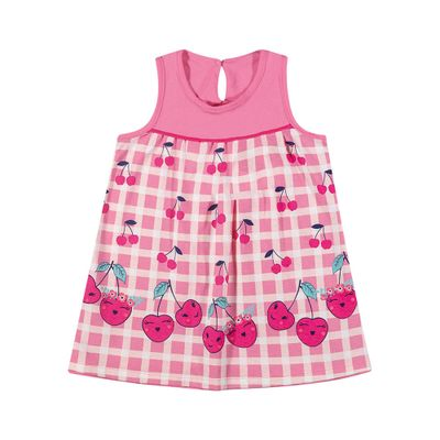 Vestido-Infantil---Meia-Malha---Cereja---Rosa---Kamylus---P
