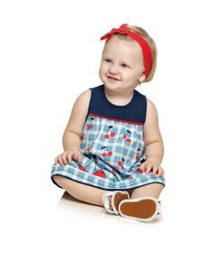 Vestido-Infantil---Meia-Malha---Cereja---Marinho---Kamylus---P
