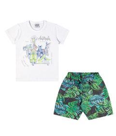 Conjuntinho-Infantil---Camiseta-e-Bermuda-Estampada---Australia---Branco---Kamylus---1