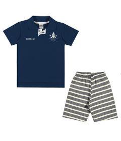 Conjuntinho-Infantil---Camiseta-e-Shorts-Estampado---Thibum---Marinho---Kamylus---1