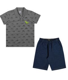 Conjuntinho-Infantil---Camiseta-Polo-e-Bermuda---Dino---Preto---Kamylus---4