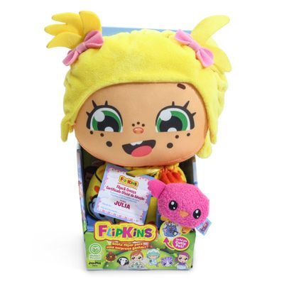 Boneco-Interativo-Com-Cutie-Pet---Flipkins---2-Em-1---Julia---DTC