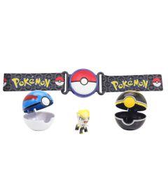 Conjunto-De-Acao---Pokemon---Cinto-Porta-Pokebola---DTC