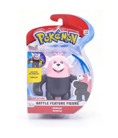 Figura-Articulada---11-Cm---Pokemon---Battle-Feature-Figure---Bewear---DTC
