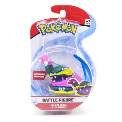 Figura-Articulada---Pokemon---7-Cm---Battle-Figure---Muk-De-Alola---DTC