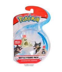 Figura-Articulada---Pokemon---7-Cm---Battle-Figure---Rattata-De-Alola-e-Sandygast---DTC