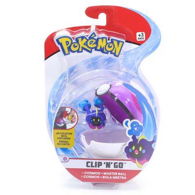 Mini-Figura-Pokemon-e-Pokebola-Com-Clip---Cosmog-e-Master-Ball---DTC