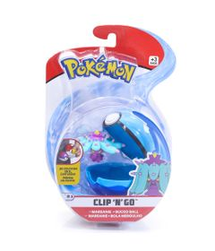 Mini-Figura-Pokemon-e-Pokebola-Com-Clip---Mareanie-e-Buceo-Ball---DTC