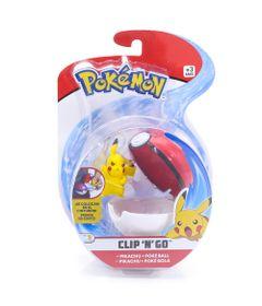 Mini-Figura-Pokemon-e-Pokebola-Com-Clip---Pikachu-e-Poke-Ball---DTC
