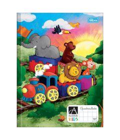 Caderno-Brochura---Quadriculado---Capa-Dura---Academie-Kids---40-Folhas---Tilibra