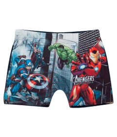 sunga-infantil-disney-marvel-vingadores-azul-tip-top-8397018_Frente