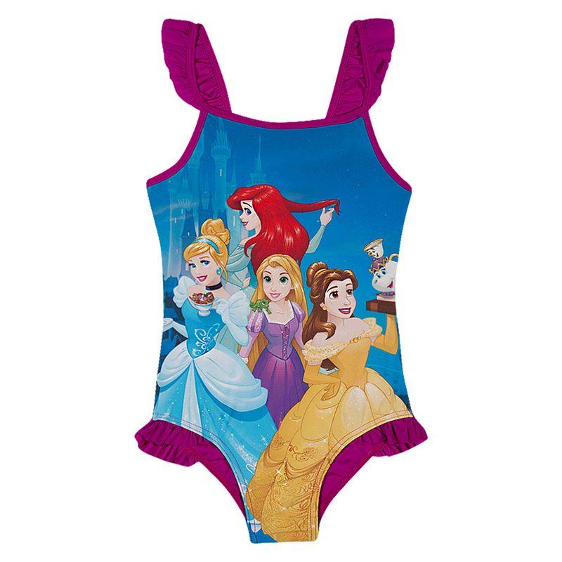 f701c6c407 Maiô Infantil - Disney - Princesas - Roxo - Tip Top - PBKIDS