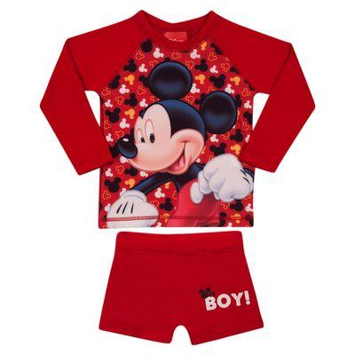 conjunto-de-praia-camisa-manga-longa-e-sunga-disney-mickey-mouse-vermelho-tip-top-7445103_Frente