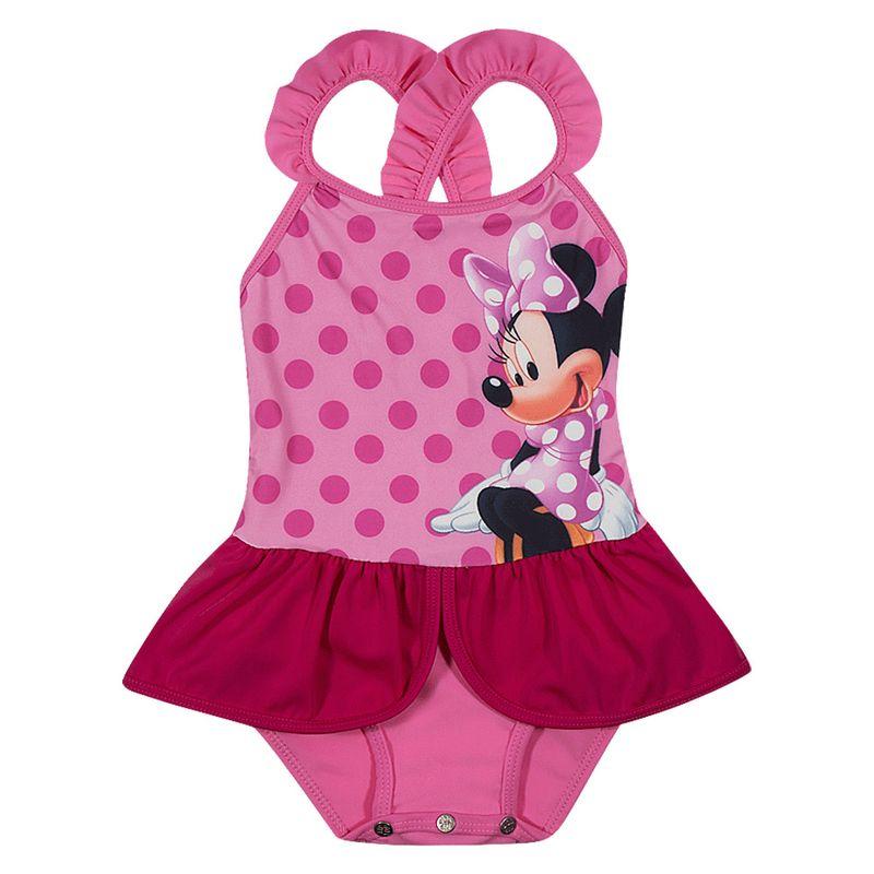 921dabf796 Maiô Infantil - Disney - Minnie Mouse - Rosa - Tip Top - PBKIDS