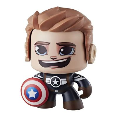 Boneco-de-Acao---Mighty-Muggs---Marvel-Legends---Disney---Avengers---Capitao-America