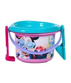 Balde-de-Praia---Disney---Minnie---Rosa