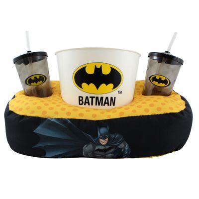 Almofada-com-Copo-e-Balde-de-Pipoca---DC-Comics---Liga-da-Justica---Batman---Zona-Criativa