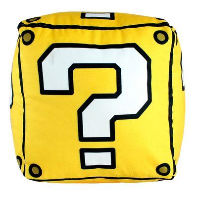 Almofada-Cubo---Super-Mario-Bros---25x25cm---Veludo---Zona-Criativa