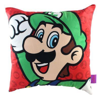 Almofada---Super-Mario-e-Luigi---40x40cm---Veludo---Zona-Criativa