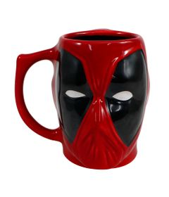 Caneca-3D---400Ml---Disney---Marvel---Deadpool---Zona-Criativa