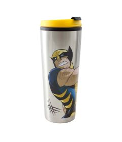 Copo-Para-Viagem---X-Men---Wolverine---450Ml---Marvel---Disney---Zona-Criativa