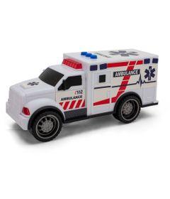 Mini-Veiculo-com-Luz-e-Som---6Cm---Roda-Livre---Street-Rod---Ambulancia---Toyng