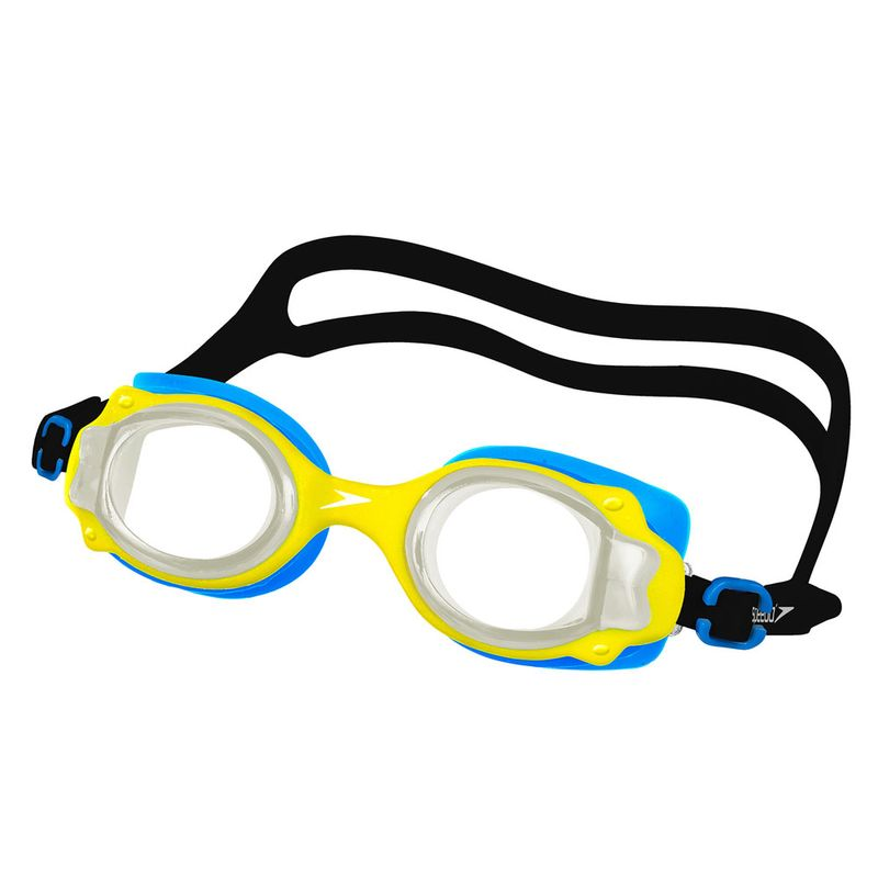 Óculos de Natação Infantil - Lappy - Azul - Amarelo - Speedo - PBKIDS 8ca55a0569