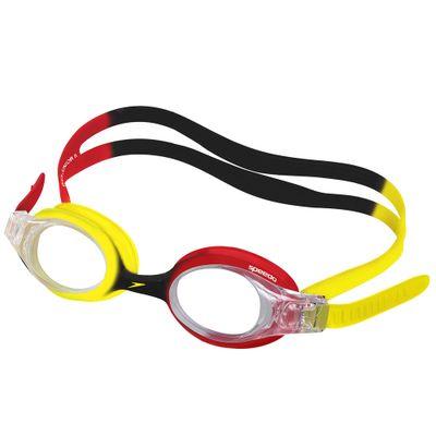 Oculos-de-Natacao-Infantil---Quick-Junior---Vermelho---Amarelo---Speedo