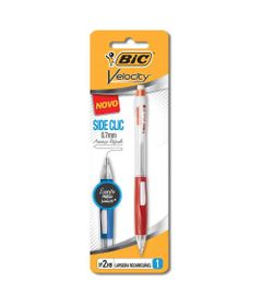Lapiseira-0.7mm---Velocity---Side-Clic---BIC