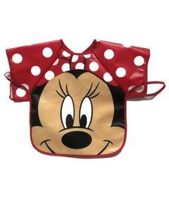 Babador-Avental---Minnie---Disney---Girotondo