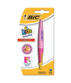 Caneta-Esferografica---1.0mm---Evolution-Kids---Rosa---BIC