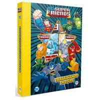 Conjunto-com-6-Minilivros---DC-Comics---Super-Friends--Trabalhando-em-Equipe---Ciranda-Cultural