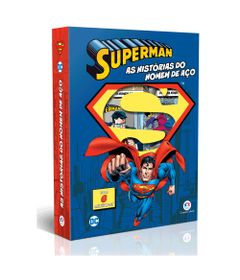 Conjunto-com-6-Minilivros---DC-Comics---Superman---As-Historias-do-Homem-de-Aco---Ciranda-Cultural