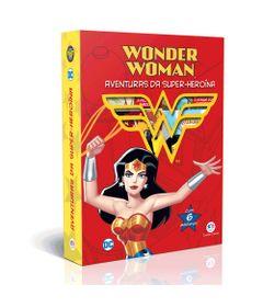 Conjunto-com-6-Minilivros---DC---Mulher-Maravilha---Aventuras-da-Super-heroina---Ciranda-Cultural