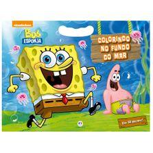 Livro-com-50-Adesivos---Bob-Esponja---Nickelodeon---Colorindo-no-Fundo-do-Mar---Ciranda-Cultural