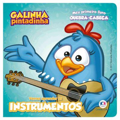 Livro-e-Quebra-Cabeca---Galinha-Pintadinha---Vamos-Aprender-os-Instrumentos---Ciranda-Cultural