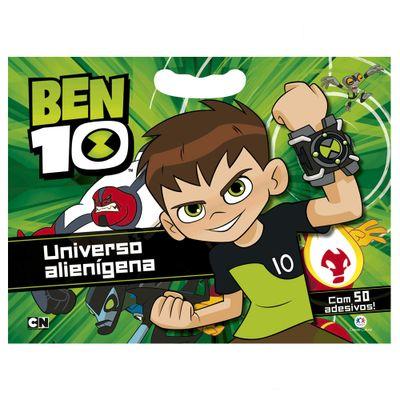 Livro-Infantil-com-50-Adesivos---Ben-10---Universo-Alienigena---Ciranda-Cultural