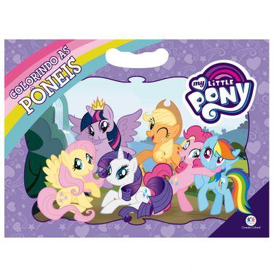 Livro-Infantil-para-Colorir---My-Little-Pony---Colorindo-as-Poneis---Ciranda-Cultural