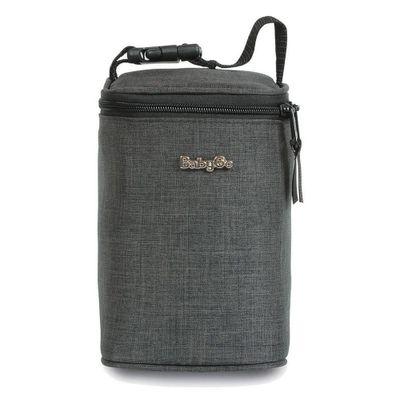 Porta-Mamadeira---Baby-Bag---Capacidade-para-4-Unidades---Cinza-Escuro---Baby-Go