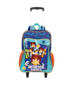 Mochila-Com-Rodinhas---Grande-Authentic-Games---Minecraft---Sestini