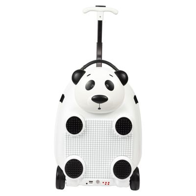 Mochila-Com-Rodinhas---Play-Music-Animals-RC---Panda---Sestini